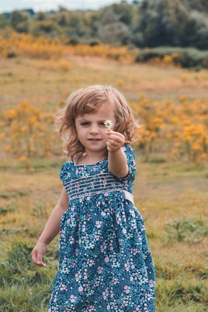 Family Photoshoot - Can you bring me a daisy?